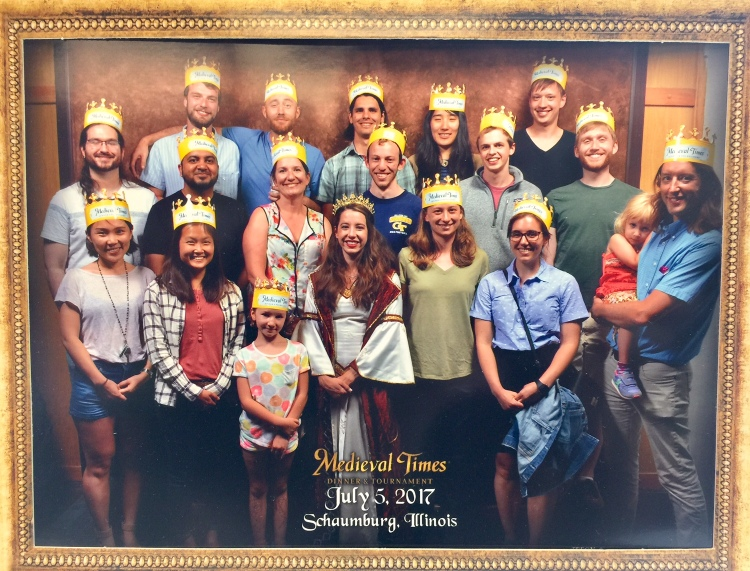 Lucks Lab at Medieval Times